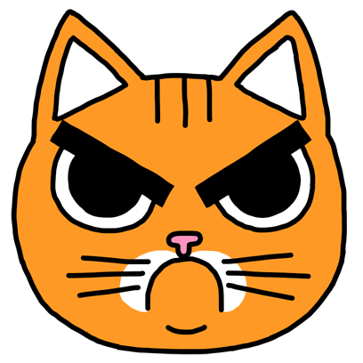 Orange Cat Stickers messages sticker-4