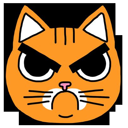 Orange Cat Stickers messages sticker-4
