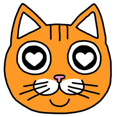 Orange Cat Stickers messages sticker-3