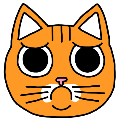 Orange Cat Stickers messages sticker-6
