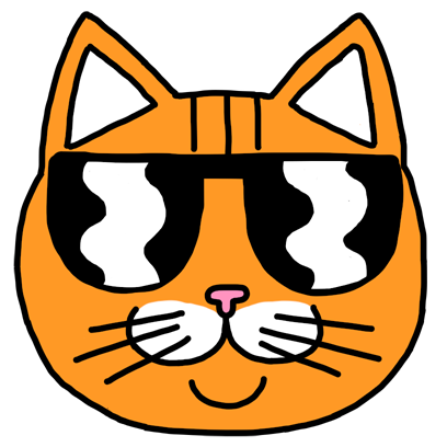 Orange Cat Stickers messages sticker-1