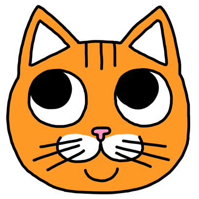 Orange Cat Stickers messages sticker-0