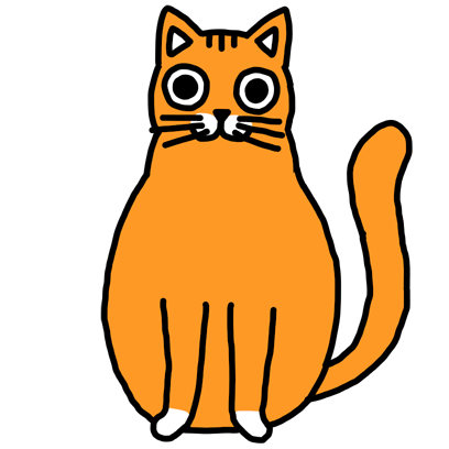 Orange Cat Stickers messages sticker-10