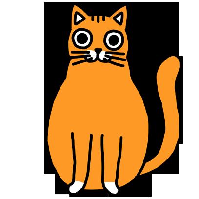 Orange Cat Stickers messages sticker-10