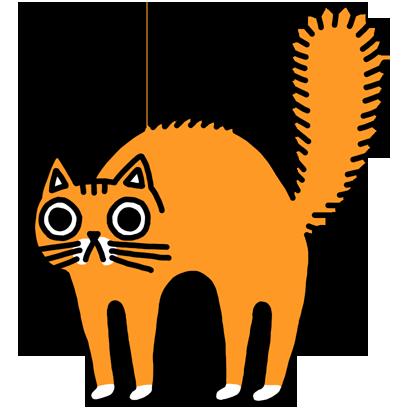 Orange Cat Stickers messages sticker-2