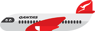 Qantas Stickers messages sticker-0