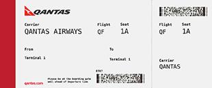 Qantas Stickers messages sticker-7