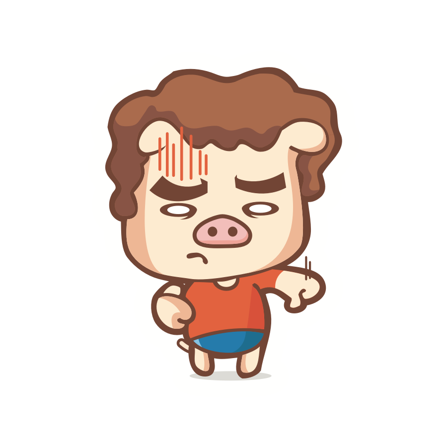 Piggy Stickers messages sticker-11