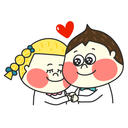 Chestnut Couple - Mango Sticker messages sticker-0