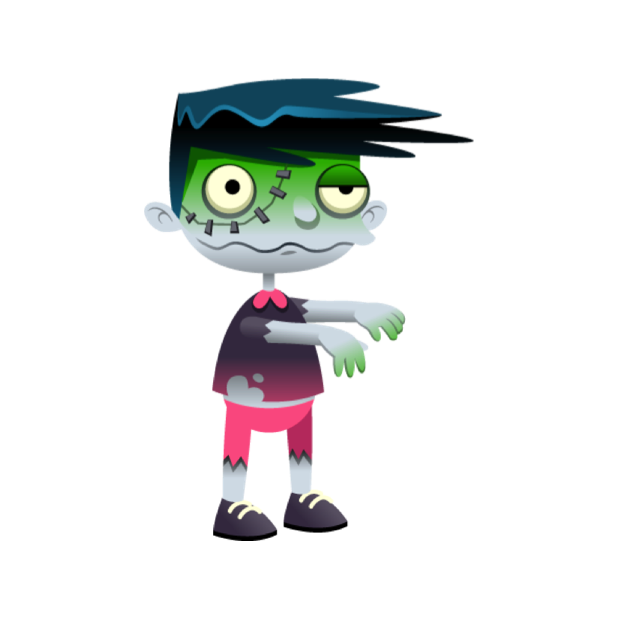 Zombie Pack - Stickers messages sticker-0
