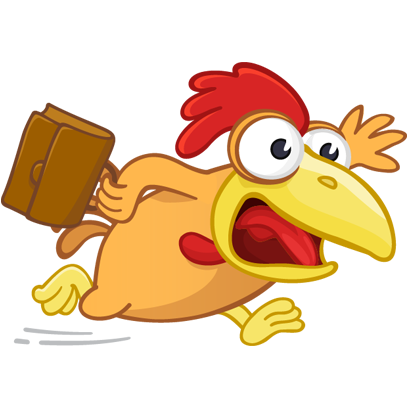 Fima the Rooster messages sticker-6