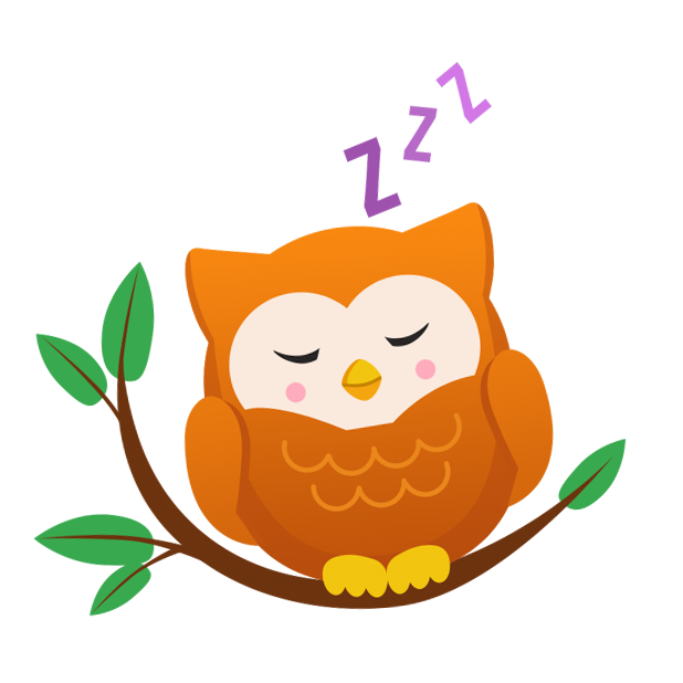 Oliver Owl Stickers messages sticker-3