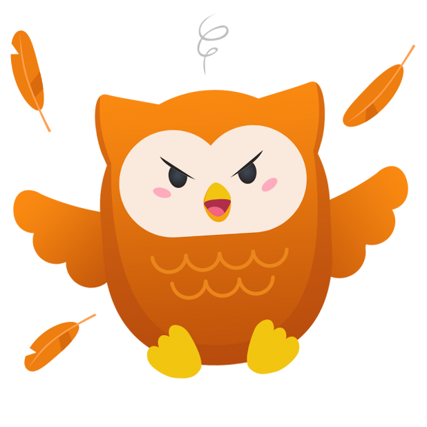 Oliver Owl Stickers messages sticker-1