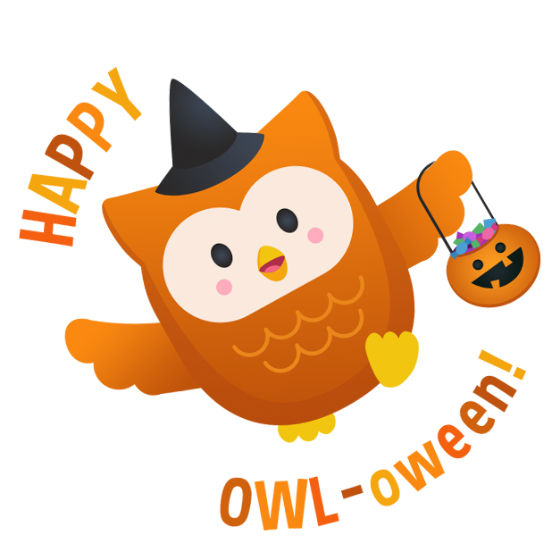 Oliver Owl Stickers messages sticker-0
