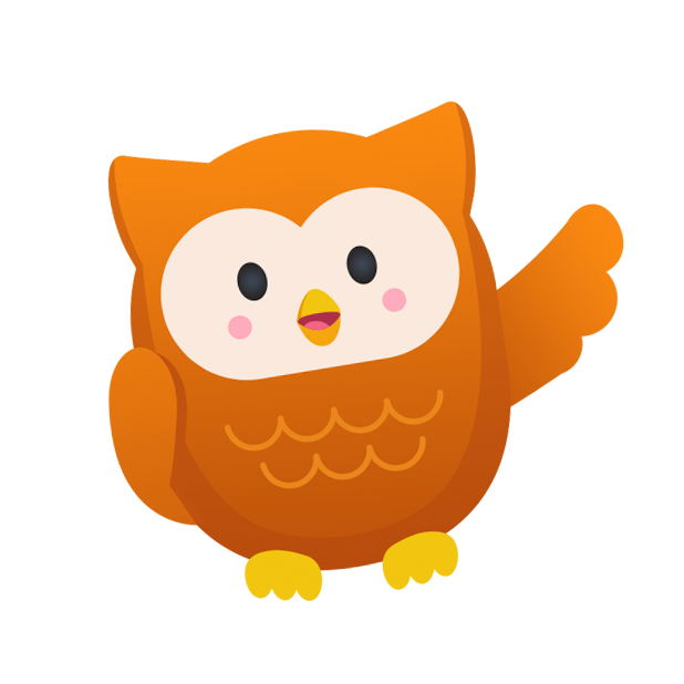 Oliver Owl Stickers messages sticker-8