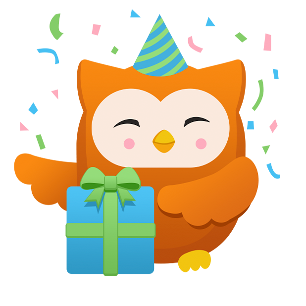 Oliver Owl Stickers messages sticker-2