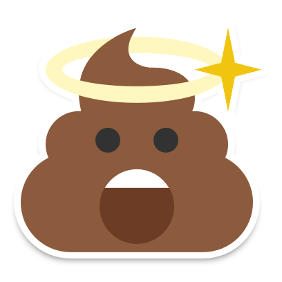 Happy Poop Stickers! messages sticker-5