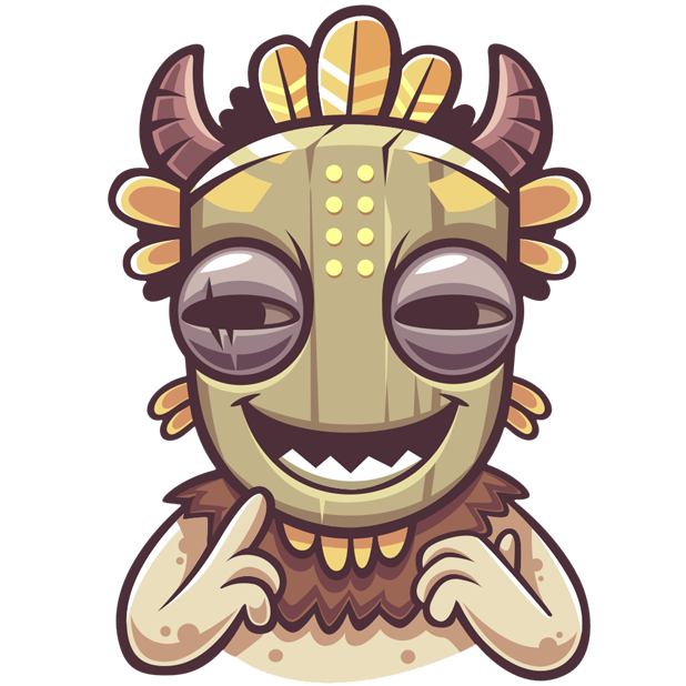 Tribal Masquerade messages sticker-11