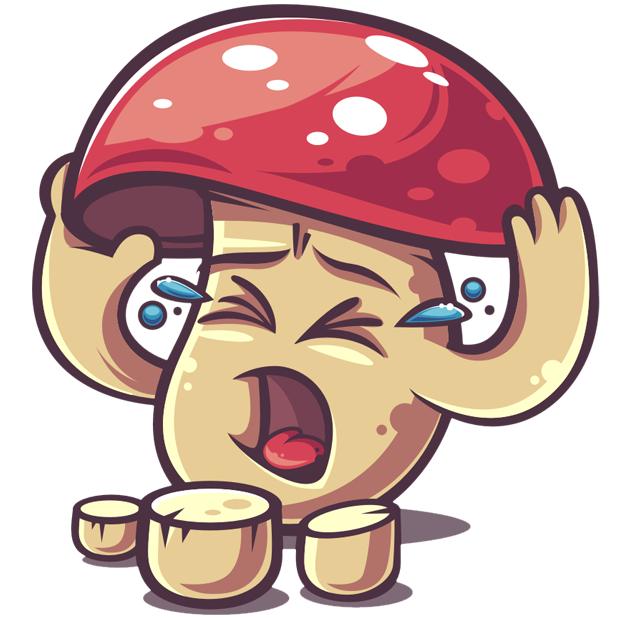 Amanita messages sticker-2