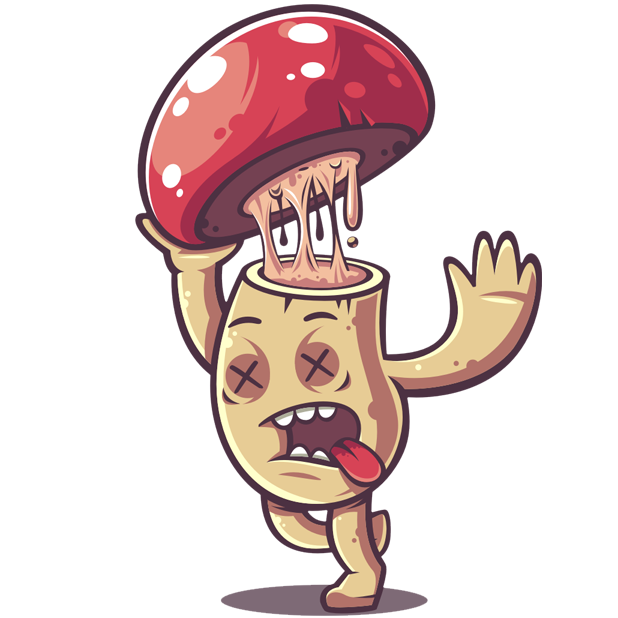 Amanita messages sticker-0