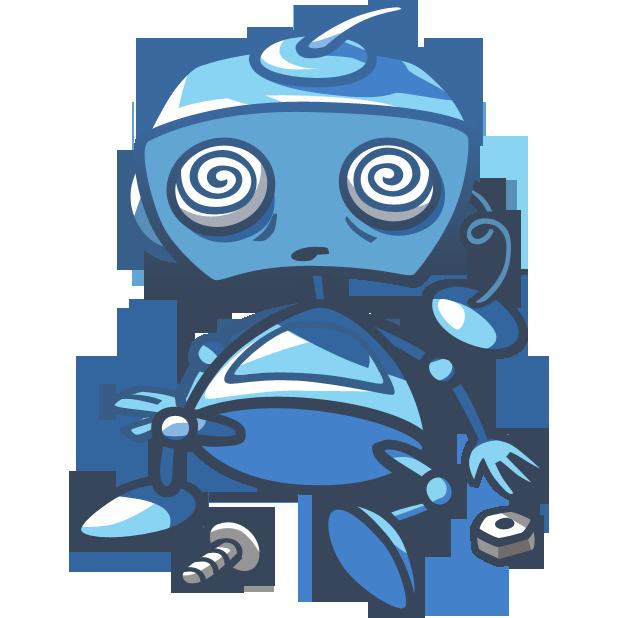 Robo Blues messages sticker-5