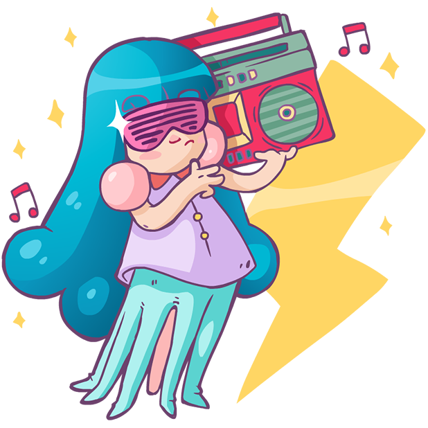 Lady Octo messages sticker-1
