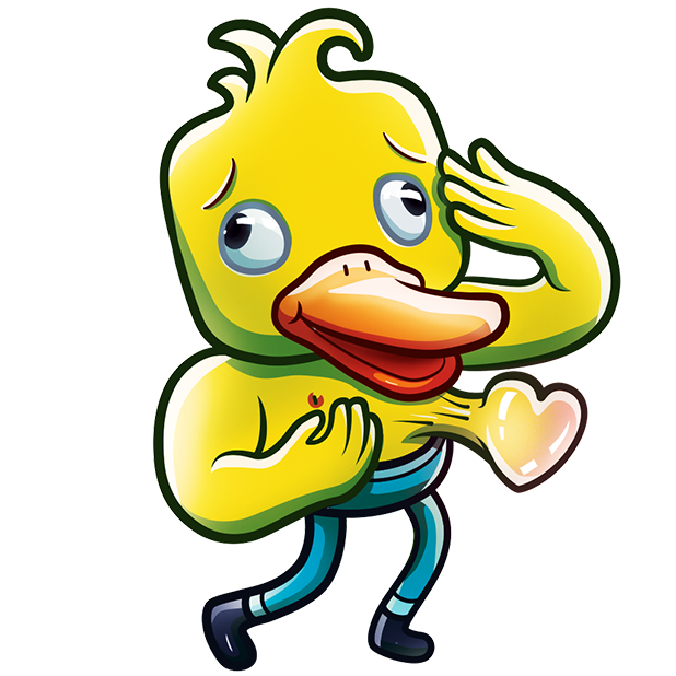 Gus The Duck messages sticker-3