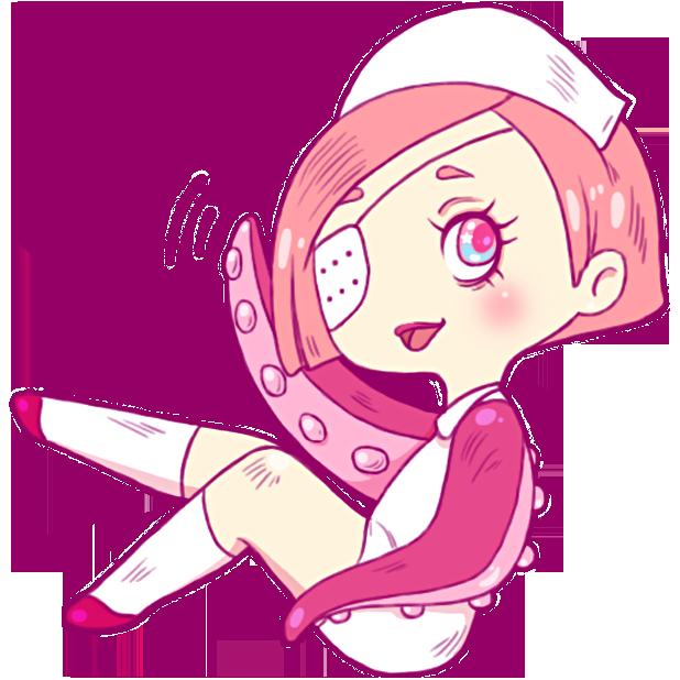 Nurse Octopia messages sticker-0