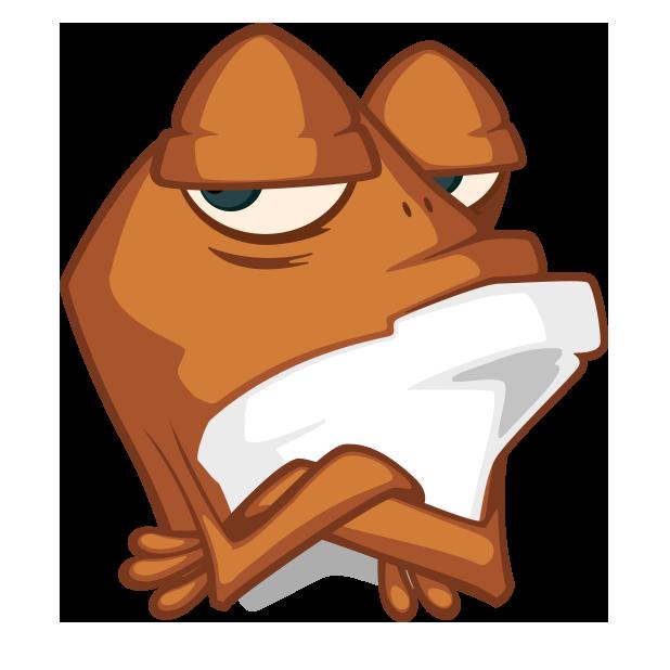 Mr. Frogo messages sticker-0