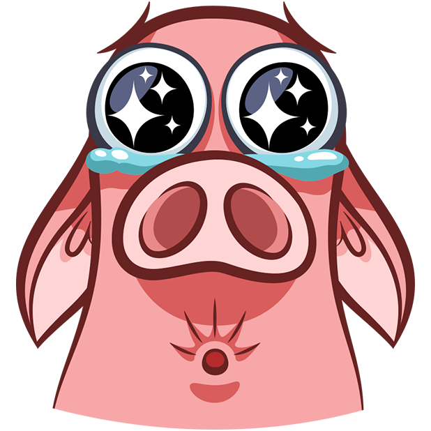 Pete The Pig messages sticker-3