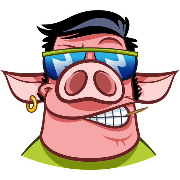 Pete The Pig messages sticker-7