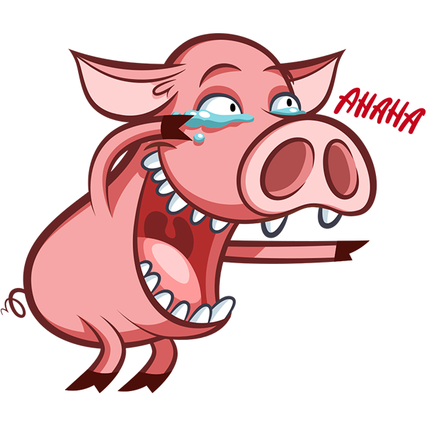 Pete The Pig messages sticker-0