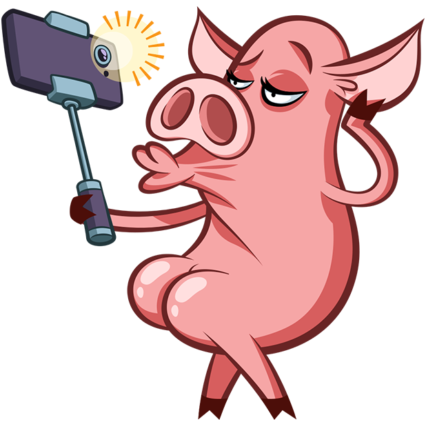 Pete The Pig messages sticker-4