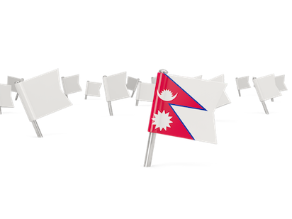 Nepal Flags messages sticker-5