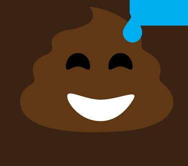 Poop Stickers messages sticker-0