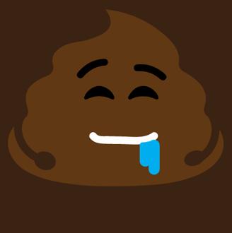Poop Stickers messages sticker-7