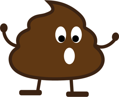 Poop Stickers messages sticker-8