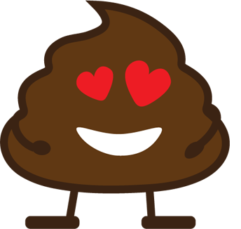 Poop Stickers messages sticker-9