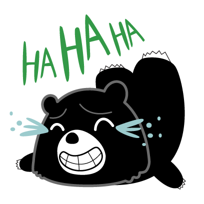 Hey Formosan Bear messages sticker-4