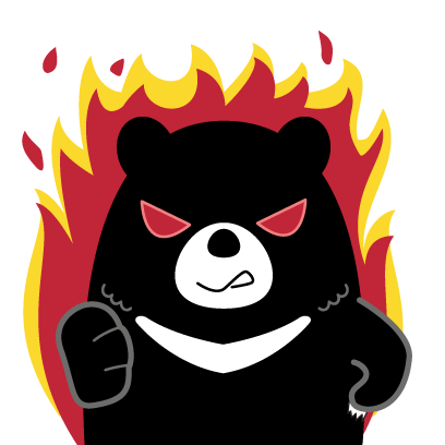 Hey Formosan Bear messages sticker-5