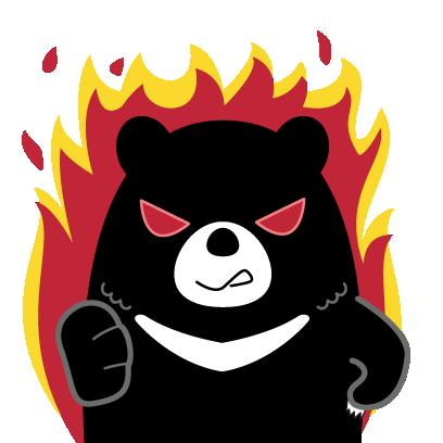 Hey Formosan Bear messages sticker-5