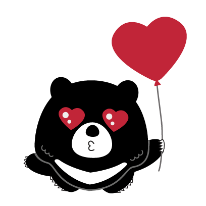 Hey Formosan Bear messages sticker-3