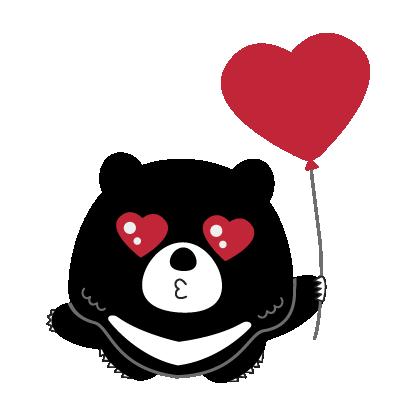 Hey Formosan Bear messages sticker-3