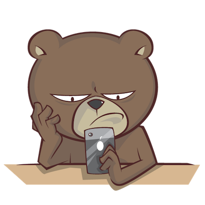 Stanly the Bear messages sticker-9