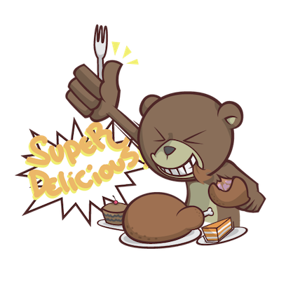 Stanly the Bear messages sticker-5