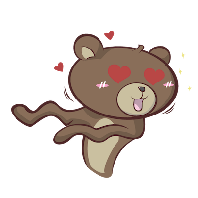 Stanly the Bear messages sticker-1