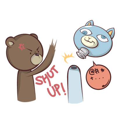 Stanly the Bear messages sticker-3