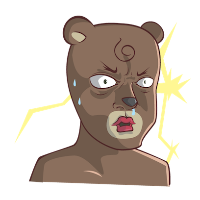 Stanly the Bear messages sticker-0