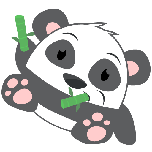 Oh Panda! Stickers messages sticker-5