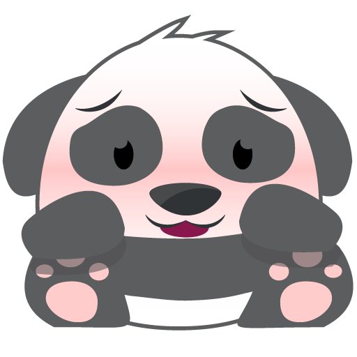 Oh Panda! Stickers messages sticker-2